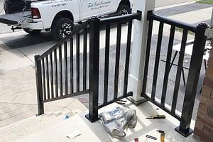 Exterior Aluminum Railings