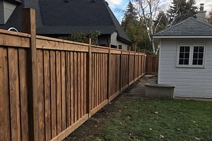 Property Fence - Mississauga Road